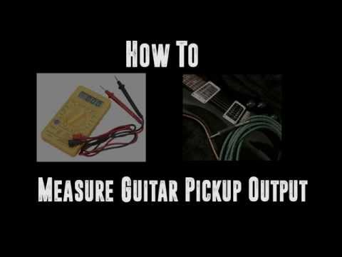 How to: Measure Guitar Pickup Output