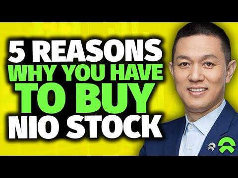 NIO: 5 SECRET Reasons Why You Have To Buy NIO stock