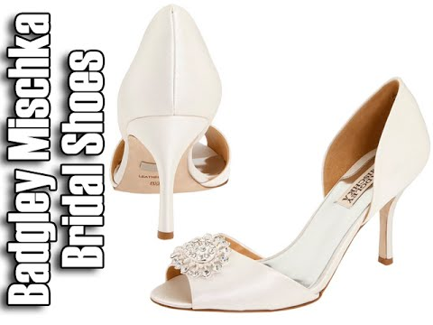 Badgley Mischka Wedding Shoes Bridal