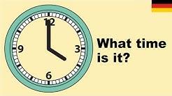 Lernen Sie englisch vokabeln - Wie spät ist es? 1 (What time is it?)