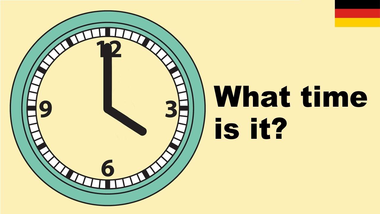 Lernen Sie englisch vokabeln   Wie spät ist es 20 What time is it
