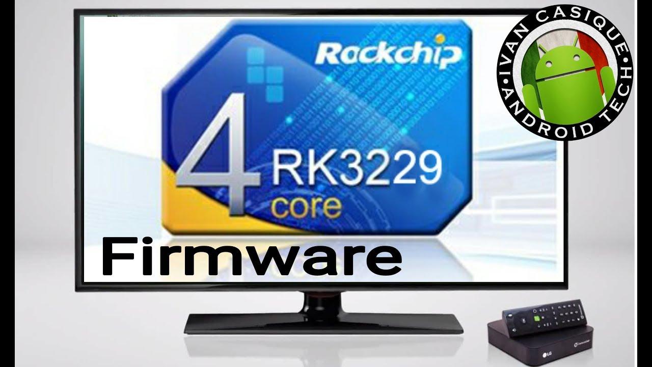 Firmware Universal para SmartBox RK3229