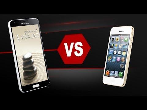 Samsung Galaxy J Vs. iPhone 5S