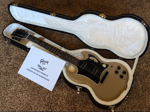 Trogly's Guitars: 2013 Gibson SG Government Series II