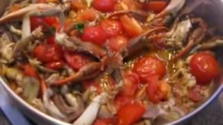 Spaghetti con i  granchi By Giggino