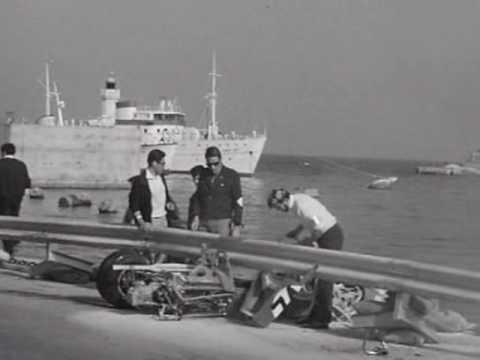 Formula 3 Monaco GP 1968 - Regazzoni crash - YouTube