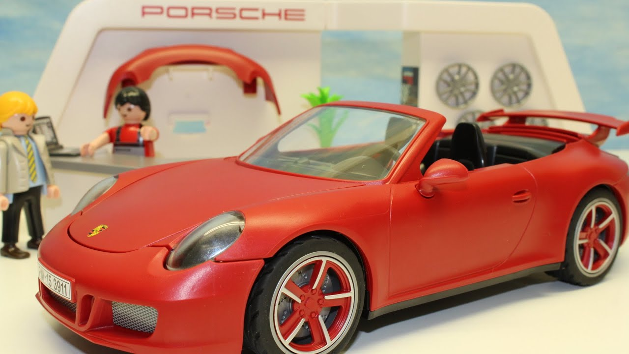playmobil porsche carrera 911 s neuheit auspacken unboxing 3911 youtube. Black Bedroom Furniture Sets. Home Design Ideas