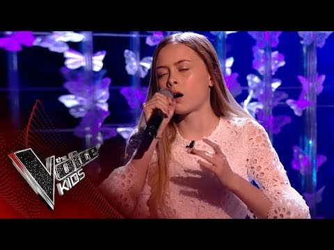 Erin performs 'Can't Help Falling In Love': Live Final | The Voice Kids UK 2017