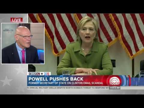 James Carville cites Gennifer Flowers while defending Clinton campaign
