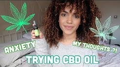 CBD OIL FOR ANXIETY REVIEW #1 | Amy maxine