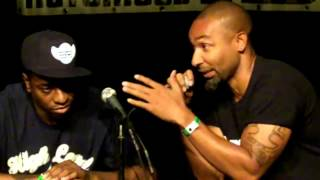 The Notorious IBE 2012 - Talkshow Stand up Dance ft. Buddha Stretch - Caleaf Sellers - Henry Link