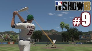 MY FIRST FIVE BATTERS SCORE! | MLB The Show 18 | Diamond Dynasty #9