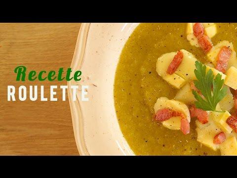 Potage de légumes... façon tartiflette !