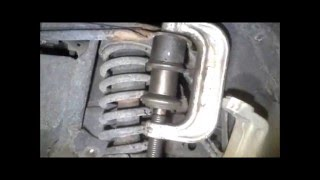 2002 ford explorer upper ball joint with basic 3 sleeve press tool