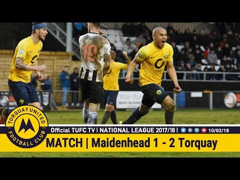 Official TUFC TV | Maidenhead United 1 - 2 Torquay United 10/02/18