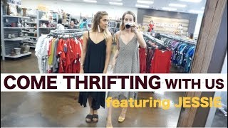 COME THRIFTING WITH US AT GOODWILL// FEATURING JESSIE FROM STYLE AND PEPPER