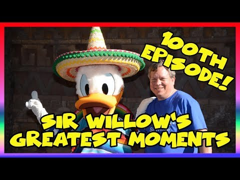 Sir Willow's 10 Greatest Moments- Special Episode! - Ep 100 Confessions of a Theme Park Worker