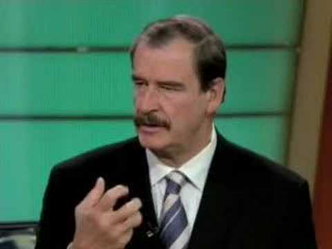Former Mexican President Vicente Fox - YouTube