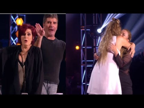 Simon Cowell FURIOUS At Nicole When Loverine Fermino Takes Talia Dean´s Seat! (MADNESS)
