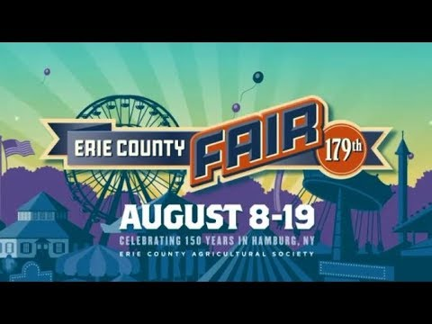 2018 197th Erie County Fair Television Commercial Hamburg, New York