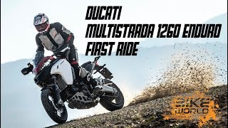 2019 Ducati Multistrada 1260 Enduro First Ride The 250kg Panigale On Stilts