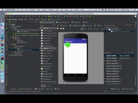 How To Build Android App With HTML5/CSS/JavaScript