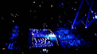 barbra streisand at barclays center show happy days are here again encore october 11 2012
