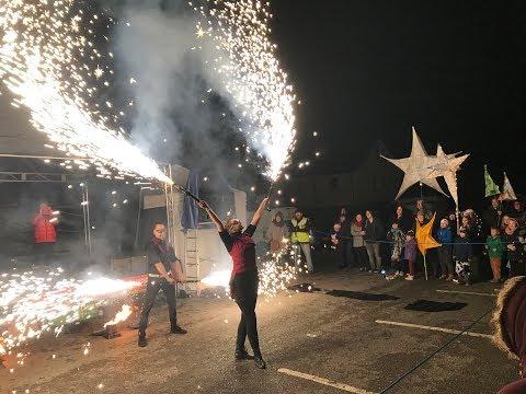 Llantwit Major Lantern Parade and Fire Juggler Show November 2017