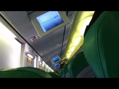 Transavia.com B737-800 safety Demo at Berlin