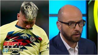 TAJANTE CON EL AMÉRICA 'Nico Castillo no está funcionando', Jesús López | Radio Formula