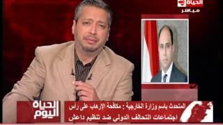 بالفيديو.. «الخارجية»: لقاء «كيري» و«شكري» تضمن تصريحات إيجابية لصالح مصر