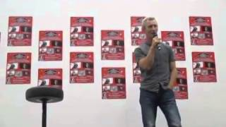 Jed Brophy Q&A Scifi convention Stockholm 2014