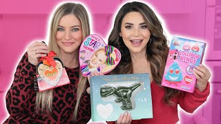 Trying Fun VALENTINES Candy! Part 2 w/ iJustine