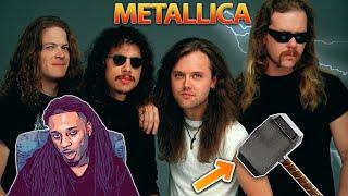 Metallica - Enter Sandman (Live Moscow 1991 HD) [ REACTION ] Metallica Throws The Hammer Down!!