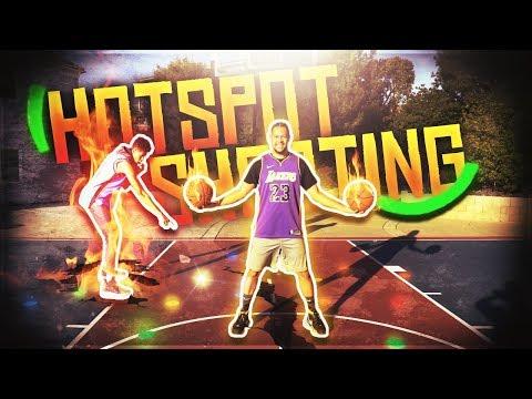 2HYPE NBA BASKETBALL HOTSPOT SHOOTING CHALLENGE !!
