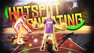 2HYPE NBA BASKETBALL HOTSPOT SHOOTING CHALLENGE !!