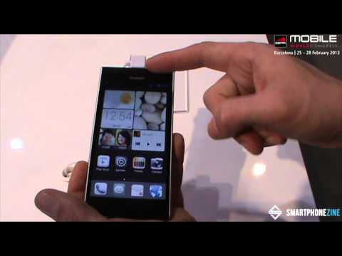 [MWC2013] Huawei Ascend P2: Hands On