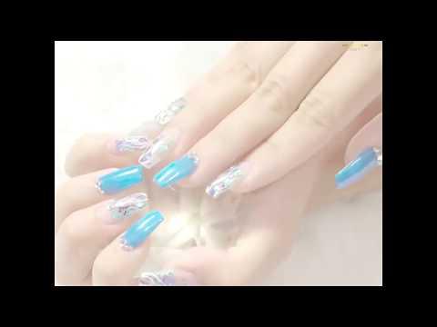 Video đắp móng gel và design nail đơn giản - NewGem Education