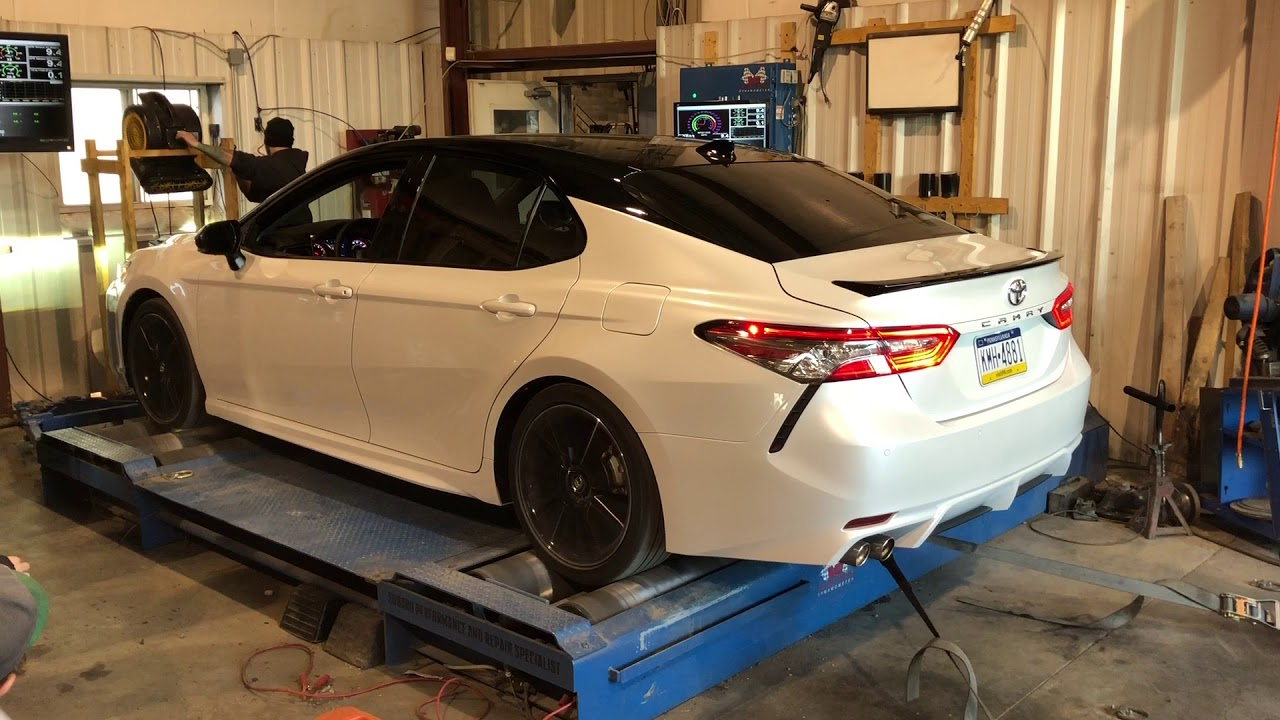 2018 Toyota Camry Xse V6 On The Dyno