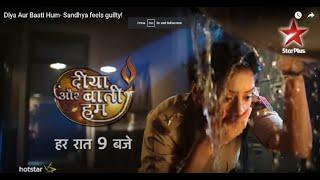 Diya Aur Baati Hum- Sandhya Feels Guilty!