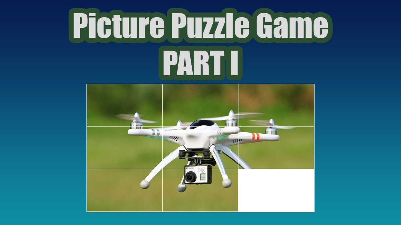 How to code Picture Puzzle game with vanilla javascript - Part 1