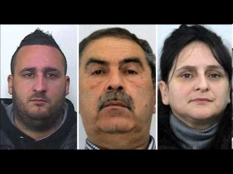 Most Wanted Mafia Family Arrested In Italy - YouTube