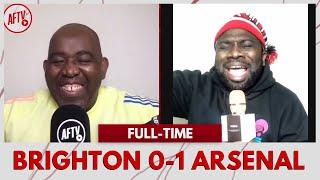 Brighton 0-1 Arsenal | Saka Is A Star Boy! (Kelechi)