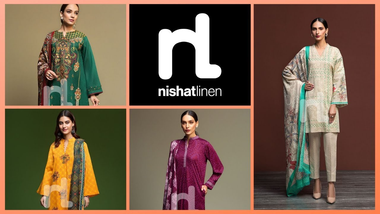Nishat Linen Latest 3-Piece Unstitched Winter Collection 2019 With Prices - YouTube