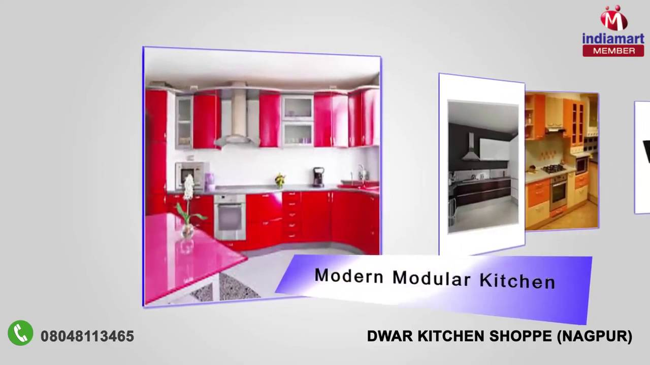 Modular kitchen and readymade doors by dwar kitchen shoppe nagpur