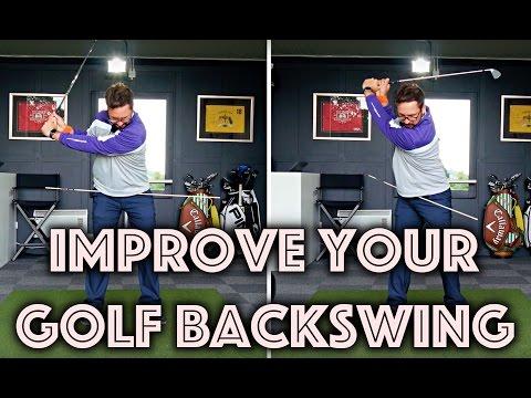 Improve Your Golf Backswing Rotation