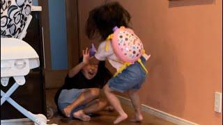 姉妹喧嘩発展するかと思ったけどギリならなかった笑残念😂