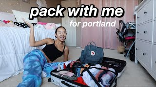 pack with me for portland | Nicole Laeno