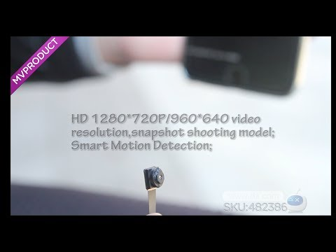 DX:ENKLOV 1080P Mini Wi-Fi Camera with Built-in Lithium Battery