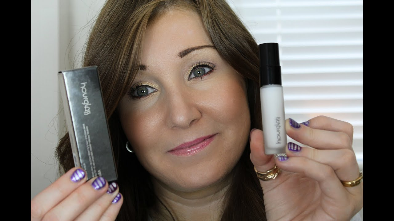 Hourglass Veil Mineral Primer Spf15 Review Youtube